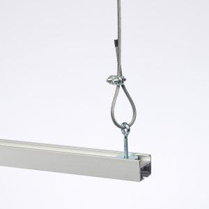 Spannwinkel mit Seilabhängung für Track-20 1 - Backdrop