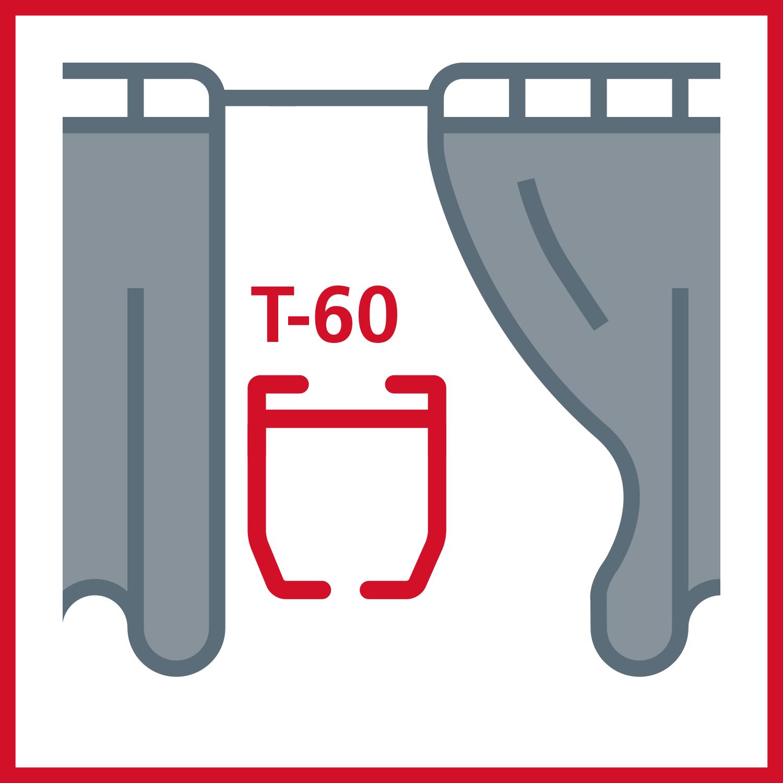 Vorhangschienen Track-60 - Backdrop