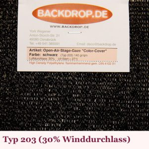 Color Cover Typ 203 - Backdrop