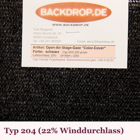 Color Cover Typ 204 - Backdrop