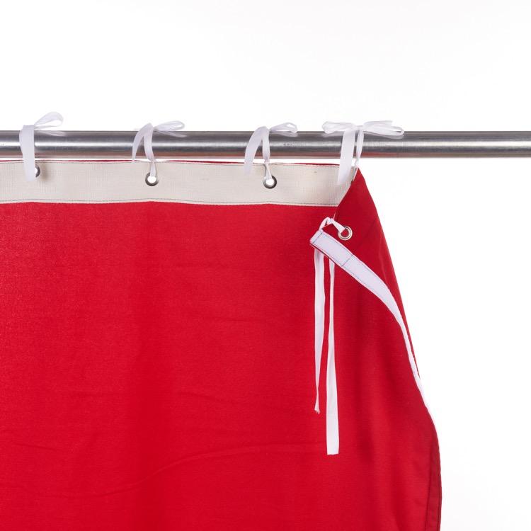 Klettband seitlich (Flauschband von vorne)