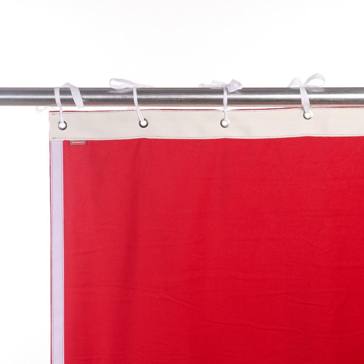 Klettband seitlich (Hakenband von hinten)
